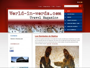 World in words